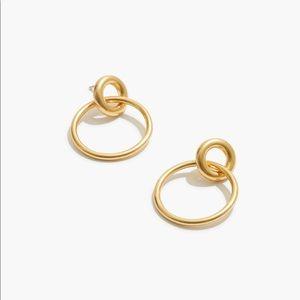 Madewell Double Hoop Earrings